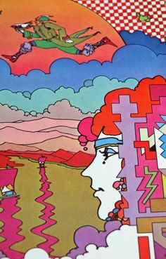 Peter Max Posters | max collectible and signed dated and inscribed in person by peter max ...