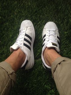 Superstar Foundation #classicsneakers #streetfashion | Shoes