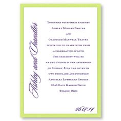 Love By Design II Wedding Invitations