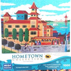 Hometown Collection Puzzle Chinatown 1000 Pieces Age 12+ Heronim 26.75 x 18.94  #HometownCollection