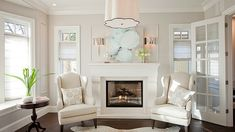 A list of our favourite Benjamin Moore whites for 2016 - Dove wing shown here.