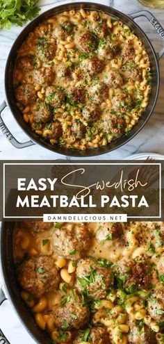 Recipes With Macaroni Noodles, Easy Pasta Recipes, Easy Dinner Recipes, Easy Meals, Cooking Recipes, Lamb Recipes, Healthy Recipes, Simple Recipes, Party Recipes