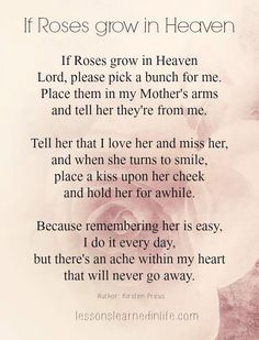 Missing Mother in Heaven Quotes Missing Mom In Heaven, Missing Mom Quotes, Mom In Heaven Quotes, Heaven Poems, Mother In Heaven, Loss Of Mother Quotes, Mom I Miss You, Mom Quotes From Daughter, Grandma Quotes