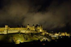 https://flic.kr/p/22pbqke   La cité de Carcassonne by night   Classée au patrimoine de l'UNESCO