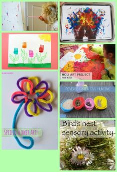 Spring and Painting Features at Crafty Moms Share