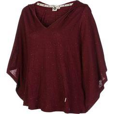 Amazon.com: Roxy Juniors Sunset Beach Poncho Top: Clothing