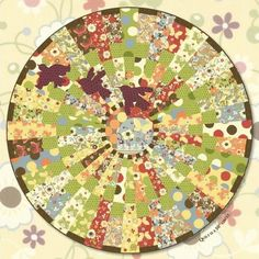 Free pattern. Red Rooster Quilts: Shop | Product: Freebird Downloadable Circle Quilt Pattern
