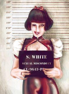 Snow White by TeeLamb on deviantART