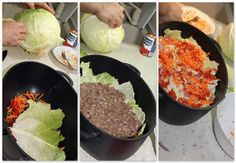 Понадобятся: савойская капуста (можно конечно же обыкновенную, но тогда листы минуты 2 подержать в кипящей воде, чтоб они были мягкими, толстую прожилку отбить или…