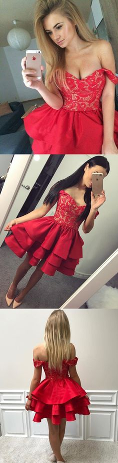 homecoming dresses,short homecoming dresses,cheap homecoming dresses,red homecoming dresses,off-the-shoulder homecoming dresses,