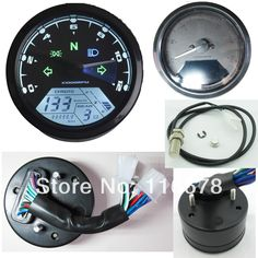 12000 RMP kmh/mph Universal LCD Digital Odometer Speedometer Tachometer Gear indicator Motorcycle Scooter Golf Carts ATV-in Motorcycle Accessories & Parts from Automobiles & Motorcycles on Aliexpress.com | Alibaba Group