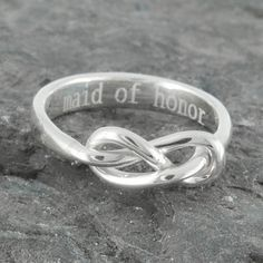 Infinity Ring Maid Of Honor Best Friend Promise by InfinityQueen