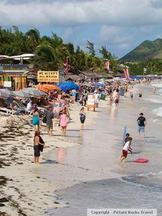 St Martin beaches - sint-maartennet