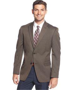 Tommy Hilfiger Trim-Fit Tonal Herringbone Sport Coat - Blazers & Sport Coats - Men - Macy's