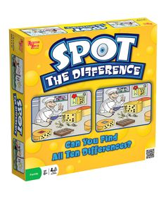 Take a look at this Spot the Difference Board Game on zulily today!