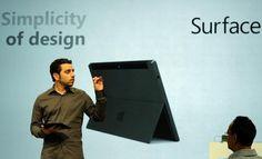 Microsoft new tablet.