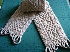 Puzzle Scarf III/11 - celtic inspired pattern by Devorgilla's Knitting (sometimes...)