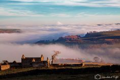 Mist rolling down the valley. Taken from Hilltop nr Eastgate by Gary Lintern.