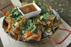 Nachos at Saint Anejo, Nashville, TN