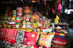 Ubud Market Bali.  Juni 1979/ juli 1985/ juli 1990/ juli 1995/ september 2002/ augustus 2010