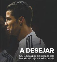 #CR7 tem sua pior média de gols em início de ano pelo Real Madrid http://dld.bz/d8Mas