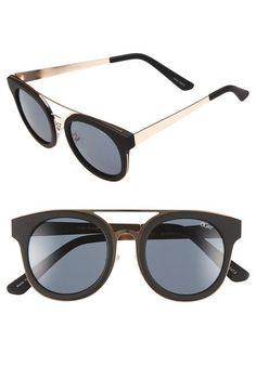 Quay Australia 'Brooklyn' Retro Sunglasses available at #Nordstrom