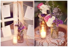 table display on the left // from Before the Big Day