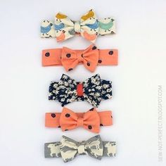 Bow Headband Tutorial Using Knit Fabric   Sew Not Perfect