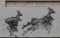 STREET ART UTOPIA » We declare the world as our canvasBy DALeast - In Johannesburg, South Africa » STREET ART UTOPIA