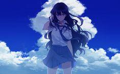 Manga Girl Wallpaper - Epic Heroes - Beautiful 27 x HD Image Gallery- A selection of Full HD Wallpaper . Kawaii, Manga Girl, Art Girl, Anime Scenery, Art, Anime Characters, Anime Drawings, Manga, Aesthetic Anime
