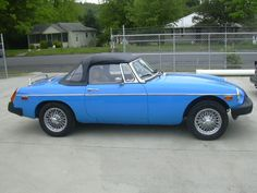AutoTrader Classics -  1978 MG MGB  Convertible Blue 4 Cylinder M http://www.a2zoffer.com/