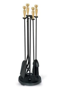 Pokers Tools and Sets 38222: Fireplace Tools Set 5 Piece Shovel ...