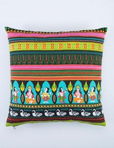 FESTIVAL kudde multi | Pillow | Pillow | Kuddar | Inredning | INDISKA Shop Online
