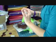 This tutorial is a step by step video on die cutting felt with your cuttlebug and nestability dies. This also goes into stitching your die cut felt as well. You can now se how easy it is to get great embellishments using felt and your die cuts
