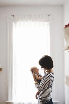 family photo shoot at home