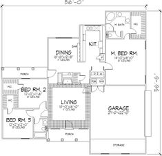 The Loring 1507 - 3 Bedrooms and 2.5 Baths | The House Designers