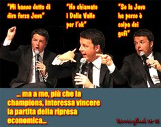 L'ironia di Renzi sulla finale di Champions ha fatto effetto!