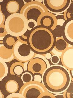 Original Retro Wallpaper Vinyl Wallcovering From The Sixties Seventies A Unique