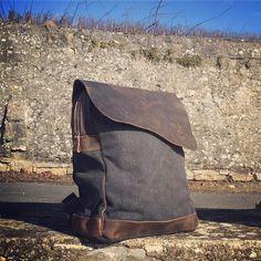 #nordlichtbags #rucksack #backpack #unique #style #canvas #segeltuch #leder #leather #vintage #einzigartig #nordlicht #tasche #design #mode #potd #fashion #bag #picoftheday