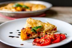 Heirloom Tomato Caprese Galette - m's belly