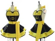 avental batgirl