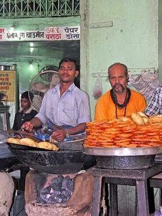 Jelabi... Puri.... Delhi