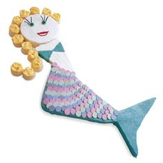 Cake? Could I do it? Great mermaid party game ideas on this site too