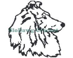 Sheltie - crochet graph pattern