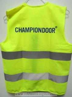 Kollane hekurvest Championdoor - http://www.reklaamkingitus.com/et/pildid?pid=8375