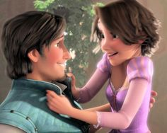 Rapunzel and Eugene Fitzherbert