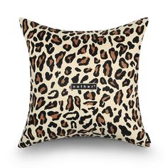 nother Animal Print Cushion (Leopard)