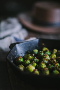 Sautéed Sherry Brussels Sprouts with Caramelized Onions & Thyme