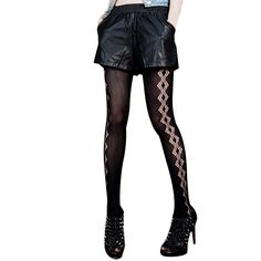 Cheap hosiery fashion, Buy Quality design pantyhose directly from China fashion pantyhose Suppliers: 2016 HOT Sexy Lingerie Women Sexy Straped Fishnet Bodysuit Open Crotch Bodystocking Babydolls Chemises Crotchless Sexy U
