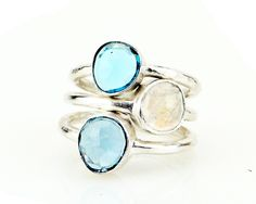 Catherine Weitzman Designer | Robindira Unsworth Stacking Rings